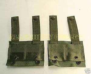 to ALICE CLIPS Military USMC US ARMY 2 OD GREEN