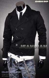 3mu Mens Military Designer Slim Jacket Blazer Coat Shirt Bossboy S M L