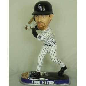 Todd Helton Colorado Rockies MLB Helmet Base Bobblehead