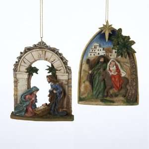 Club Pack of 12 Holy Family Nativity and Exodus Scene