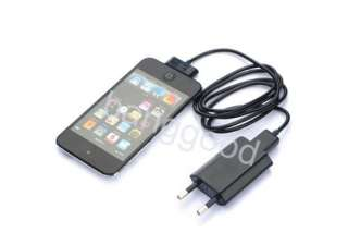 EU USB Wall Charger Data Cable For iPhone 4/3G/S iTouch