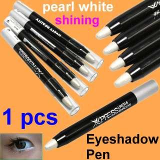 Shining Pearl White Cosmetic Eyeshadow Pen Lip Eye Liner Makeup #3