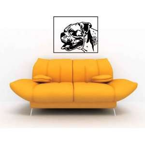 Pittbull Pitt Bull Dog Vinyl Wall Decal Sticker Graphic