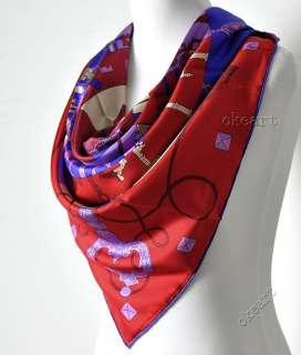 Fashion Floral Prints Square Scarf 100% Silk Twill Shawl Wrap Bandana