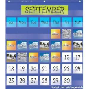 Scholastic Teachers Friend Weather in Photos Pocket Chart