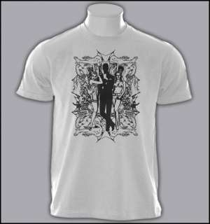 JAMES BOND 007 WALTHER PPK CULT SPY MOVIE T SHIRT S XXL