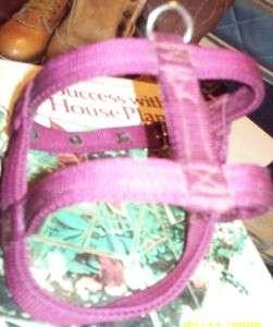 extra large purple dog harness made usa tough metal hardware search