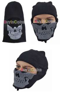 Fancy Dress Call Of Duty Modern Warfare Ghost Skull Face Mask