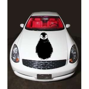 Car Hood Vinyl Sticker Funny Penguin A380 Home & Kitchen