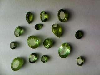 17.46 Carat Lot   Natural Green Tourmaline