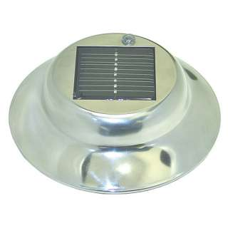 Stainless Steel Solar Garden Landscape 6 Lights LED NEW
