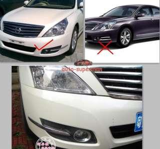 Chrome Fog Light Cover trims For Nissan Teana 2008 2010