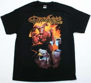 OZZY OSBOURNE Ozzfest 2005 T Shirt Demon on Toilet Hard Rock & Roll