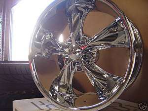 20 FOOSE LEGEND WHEELS CHROME SET OF FOUR NEW IN BOX