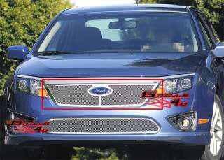 10 11 2011 Ford Fusion Stainless Steel Mesh Grille