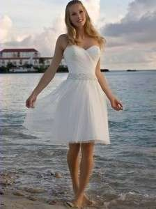 White formal ball gown skirt bridesmaid dress prom birthday party