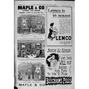 Maple Furniture Lemco Liebig Extract Beechams Pills