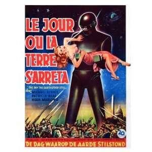 Retro Movie Prints Day The Earth Stood Still   Movie