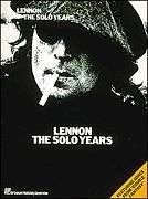 JOHN LENNON SOLO YEARS GREATEST HITS PVG MUSIC BOOK