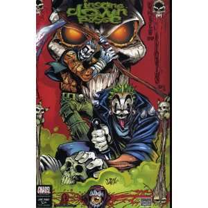 ICP INSANE CLOWN POSSE HALLS OF ILLUSION #1A COMIC