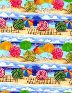 Timeless Treasures Ocean Beach Quilt Fabric Fat Quarter