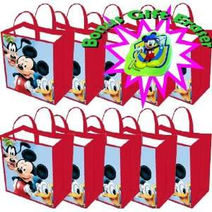 Mickey Mouse Gift Bag or Buy a Multi pack for Disney Themed Mickey