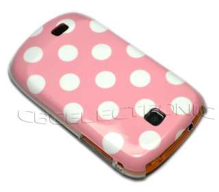 New Pink Dot Gloss hard case back cover for Samsung Galaxy Mini S5570
