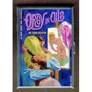 ORGY IN OILS PULP ID CREDIT CARD CIGARETTE CASE WALLET