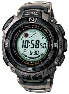 PAW1500T 7V Mens Pathfinder Solar Power Atomic Alarm Watch