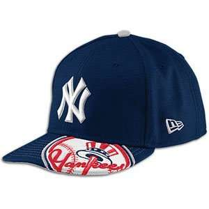 Yankees New Era MLB De Vazor 59fifty Cap   Mens ( sz. 7 1/4, Navy