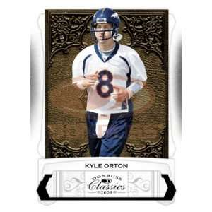 Kyle Orton   Denver Broncos   2009 Donruss Classics NFL Football
