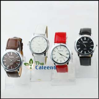NEW Classic Design Quartz Ladies Fashion Wrist Watches 4 Colors 9619