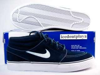 4d5fd14f7f325 Nike SB Stefan Janoski Obsidian Blue Navy Lau Wino Supreme Blazer