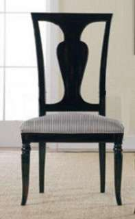 Furniture Felicity Arm & Side Dining Chairs Set Nightfall Black