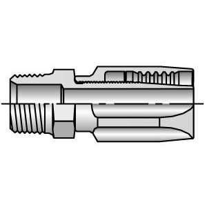 20120 12 10 Parker 3/4 Male NPT Pipe x 5/8 i.d. Hose