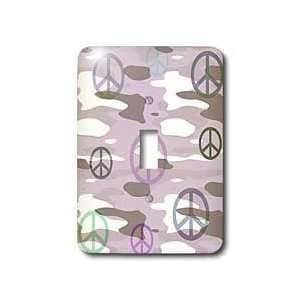 Patricia Sanders Creations   Peace Signs Camouflage Fashion  Fun Art