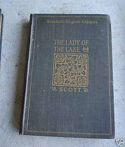 1903 Book Scotts Lady of the Lake Edited by Ginn
