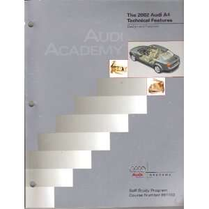 Audi Academy Service Training Self Study Program The 2002 Audi