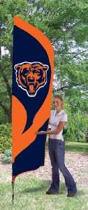 Chicago Bears NFL Embroidered 8.5 Tall Team Flag