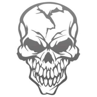 Car window Decal Sticker Skull Demon Devil smile ZE5X9