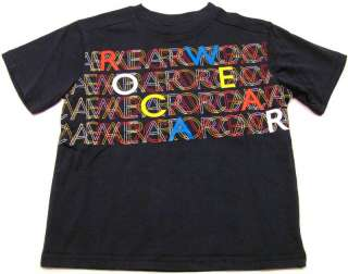 ROCAWEAR Navy Blue/Red/Yellow Tee Shirt Boys NWT $20