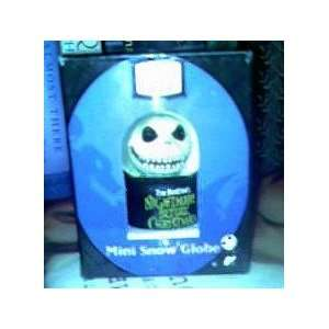 The Nightmare Before Christmas Mini Snow Globe