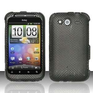 CARBON FIBER Design Hard Plastic Matte Case for HTC