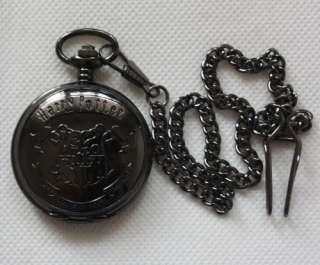 NEW Harry Potter Hogwarts Crest POCKET watch