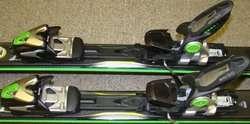 K2 A.M.P. Charger performance Speed Rocker skis + Marker MX12 bindings