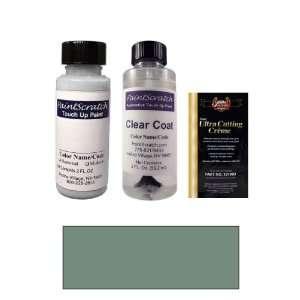 2 Oz. Dark Green Gray Metallic Paint Bottle Kit for 1994