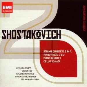 20th Century Classics Shostakovich String Quartets, Piano