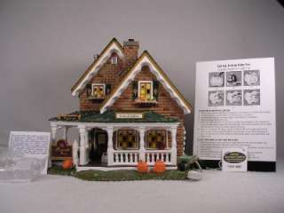 Dept 56 Snow Village Harvest Farm Roadside Sales NIB
