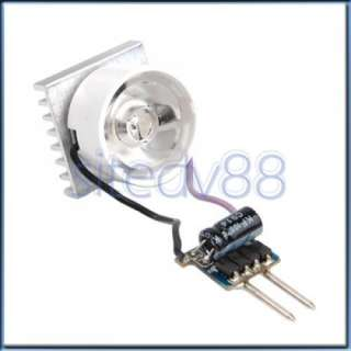 4in1 MR16 Driver+3W LED Light Lamp Bulb+Lens+Heat Sink