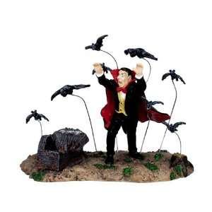 Lemax Spooky Town Village Collection Vampire & Bats Table